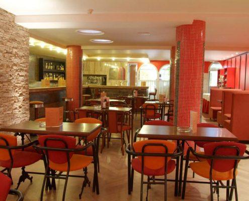 bar restaurante hotel cabañas