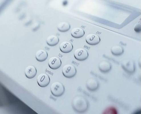 servicio de fax y fotocopiadora